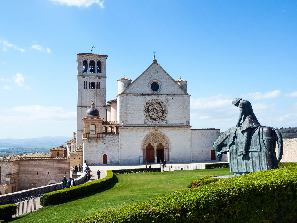 assisi italy church