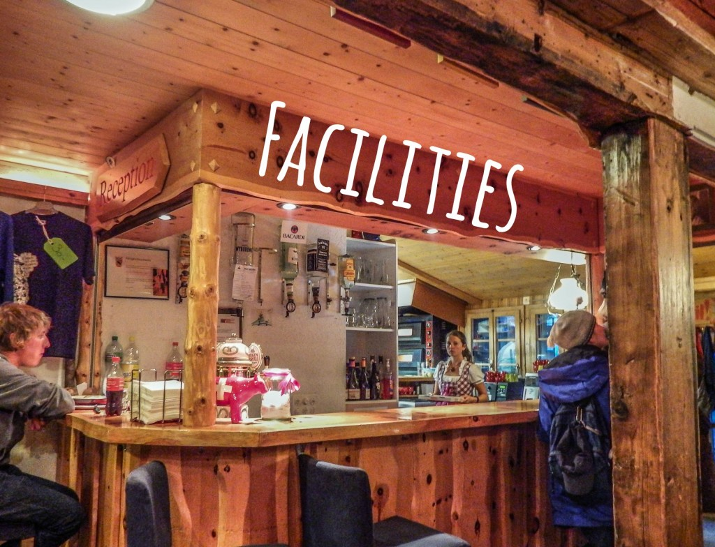 mountain hostel gimmelwald facility