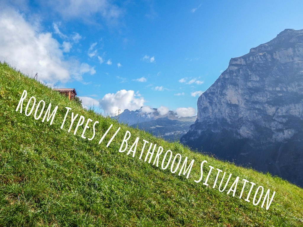 rooms bathrooms gimmelwald