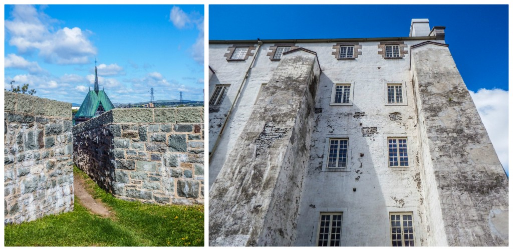 quebec city fortifications artillery