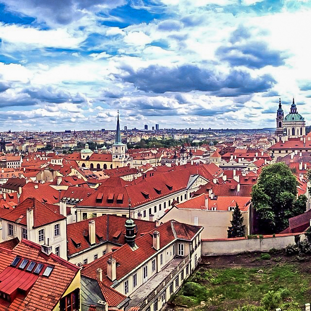 Rooftops - Prague, Czech Republic