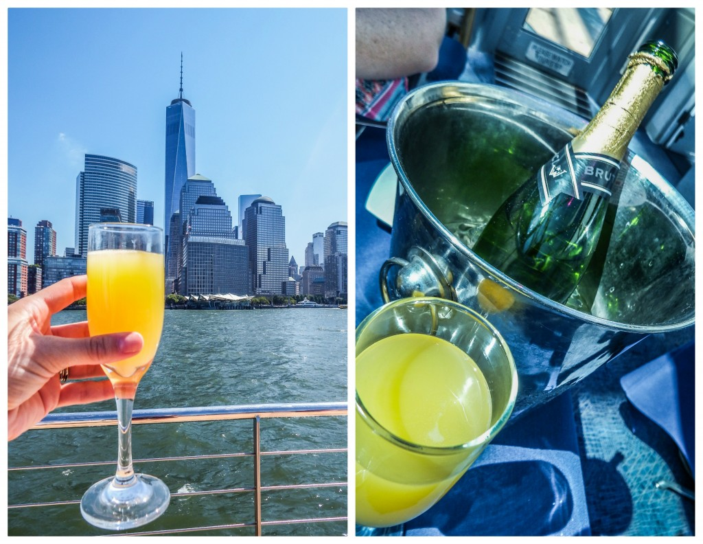 Hornblower brunch cruise mimosas