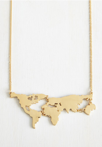 There's a map for that - necklace