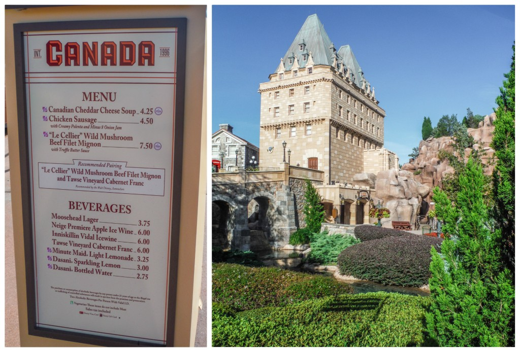 Canada Pavilion at EPCOT Food & Wine Festival