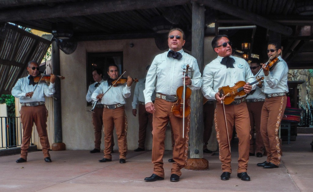 Mariachi band at EPCOT Food & Wine Festival