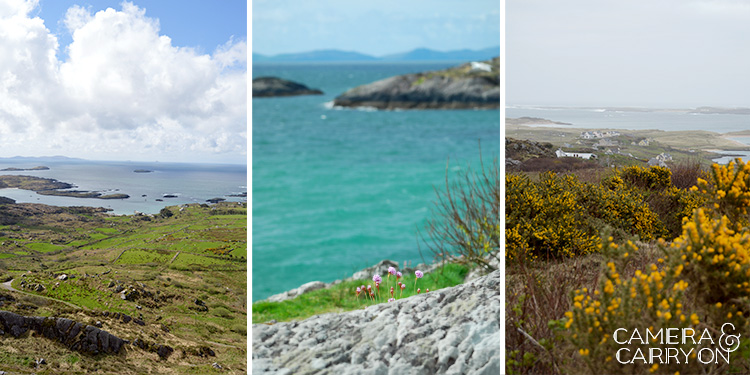 The many landscapes seen while exploring ireland