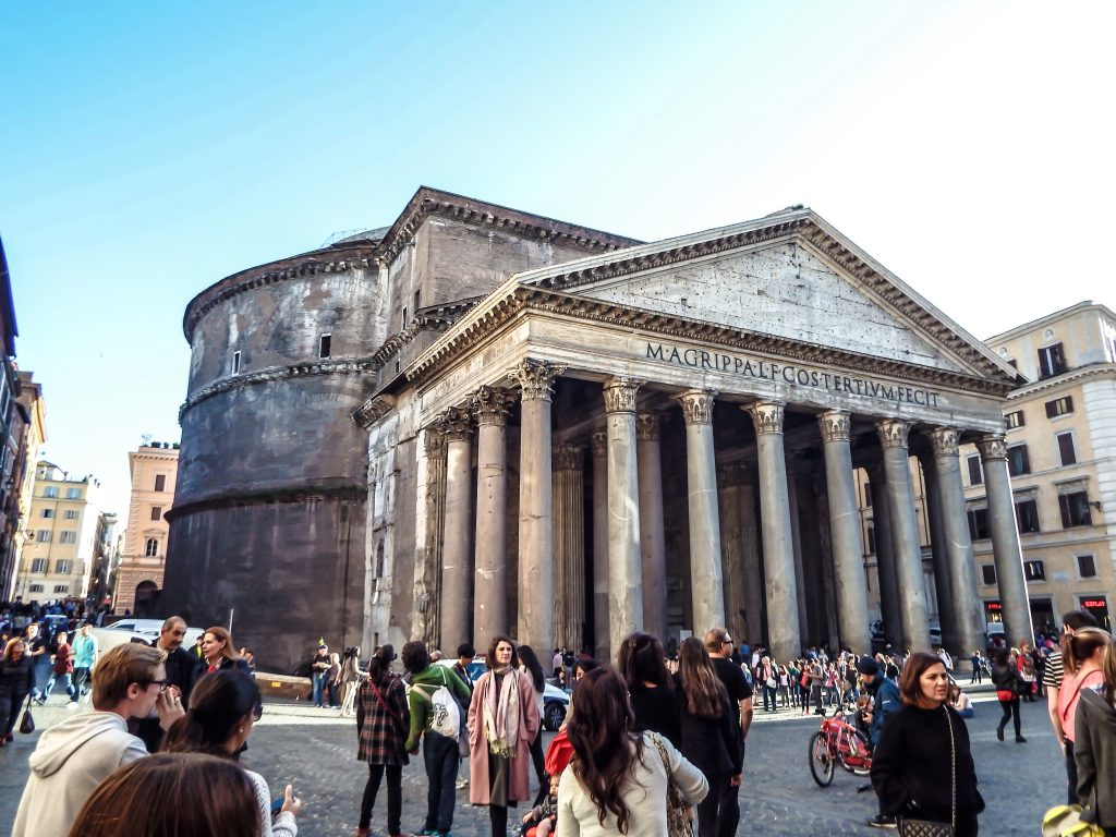 outside the Pantheon // 2 Days in Rome, Italy