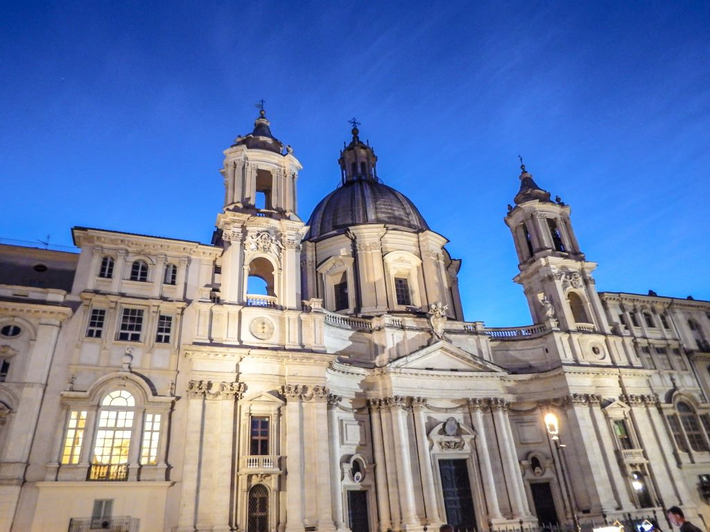 PIazza Navona // 2 Days in Rome, Italy