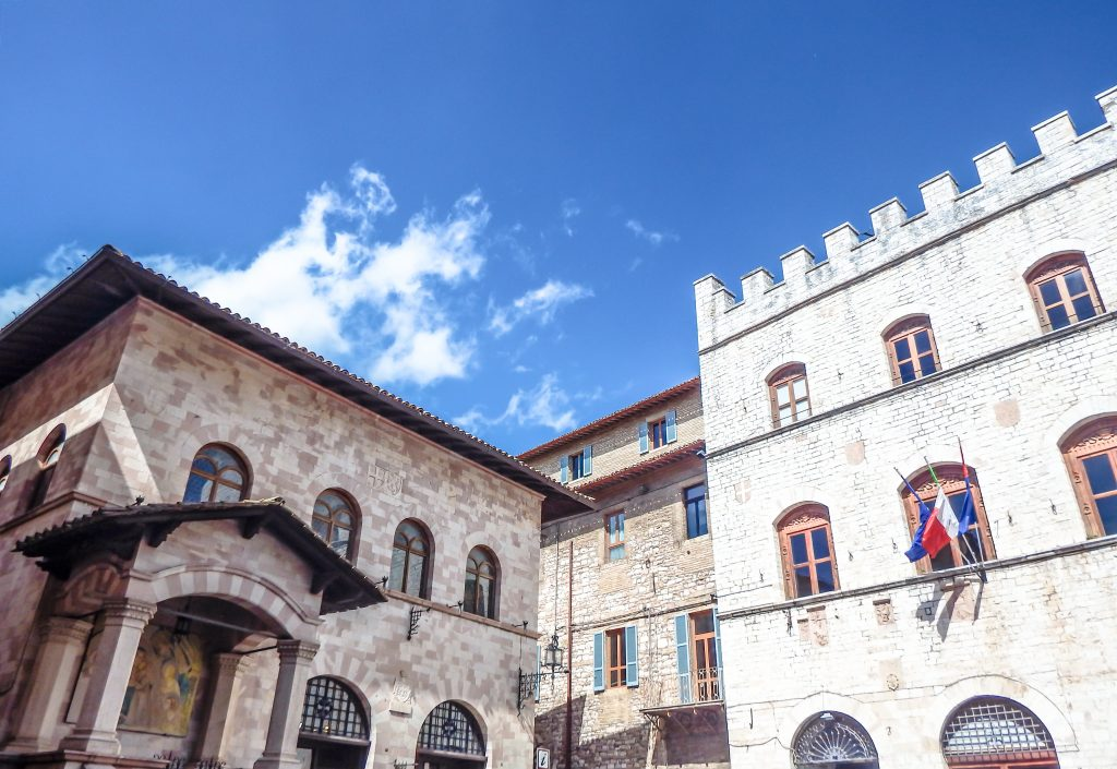 Exploring this small medieval Umbrian town during a day trip to Assisi, Italy