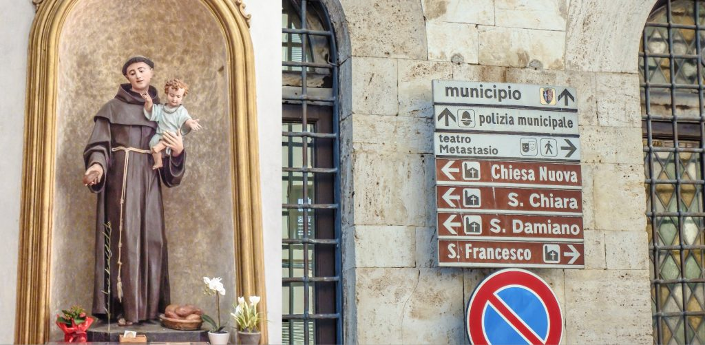 Day trip to Assisi, Italy and statue of St. Francis