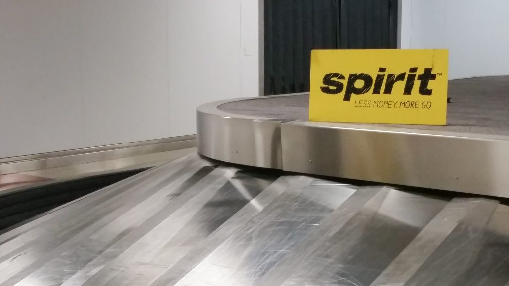 Spirit Airlines baggage claim